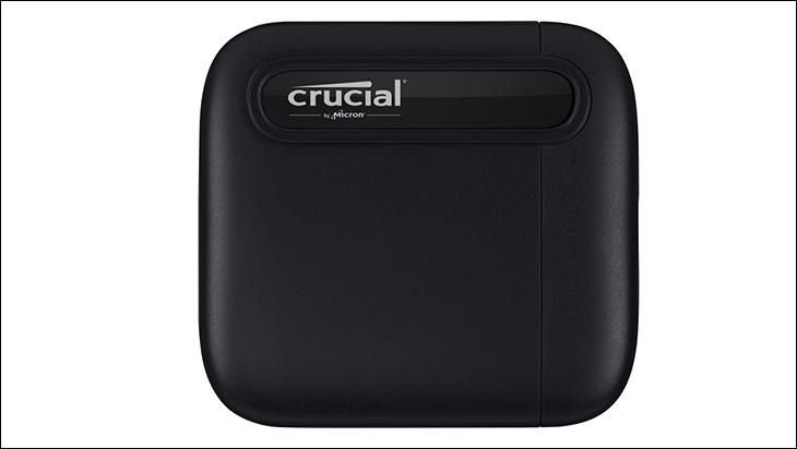 Crucial X6 2TB bottom - Crucial X6 2TB External SSD Review