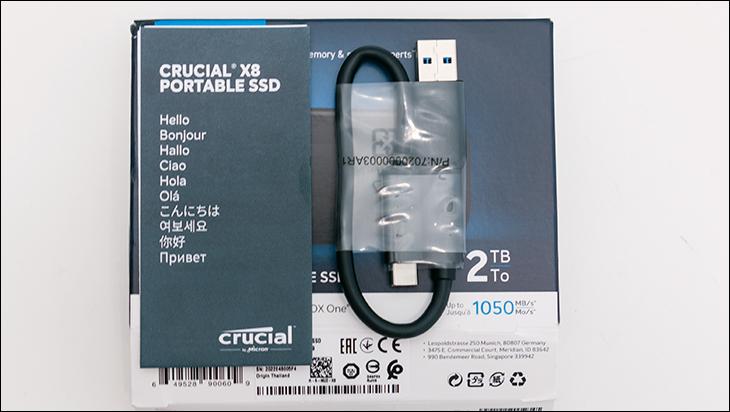 Crucial X8 2TB access - Crucial X8 2TB External SSD Review