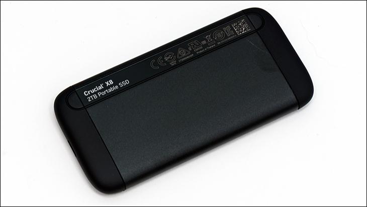 Crucial X8 2TB bottom - Crucial X8 2TB External SSD Review