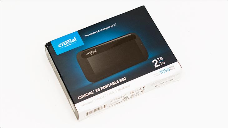 Crucial X8 2TB box - Crucial X8 2TB External SSD Review