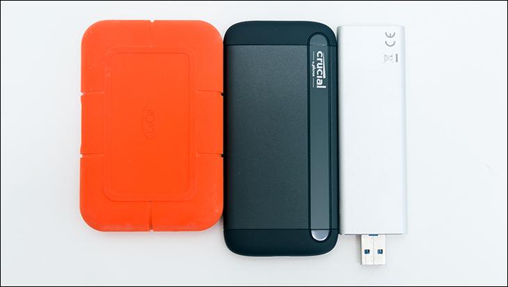 Crucial X8 2TB comp - Crucial X8 2TB External SSD Review