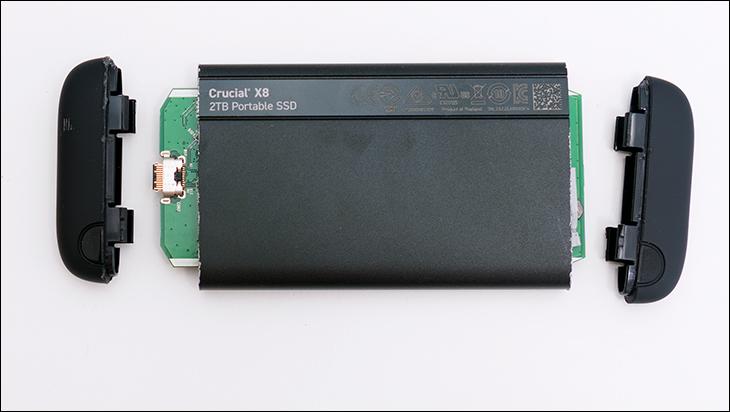Crucial X8 2TB open1 - Crucial X8 2TB External SSD Review