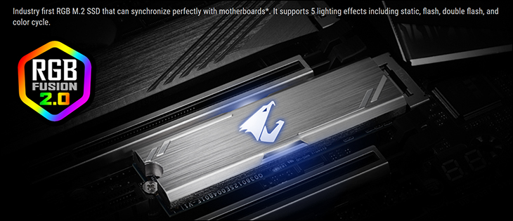 spec2 - Gigabyte Aorus RGB NVMe 256GB M.2 Review