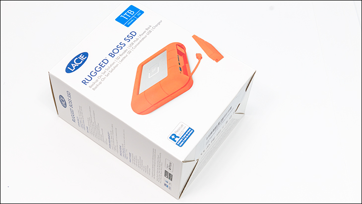 LaCie Rugged Boss SSD box - LaCie Rugged BOSS SSD Review