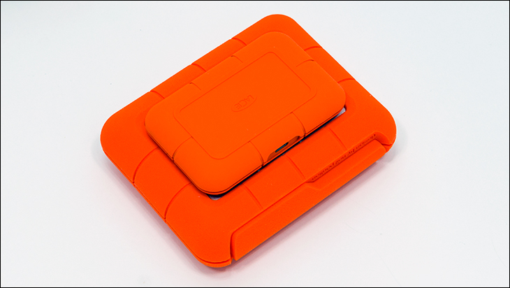 LaCie Rugged Boss SSD comp - LaCie Rugged BOSS SSD Review