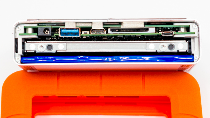 LaCie Rugged Boss SSD open - LaCie Rugged BOSS SSD Review