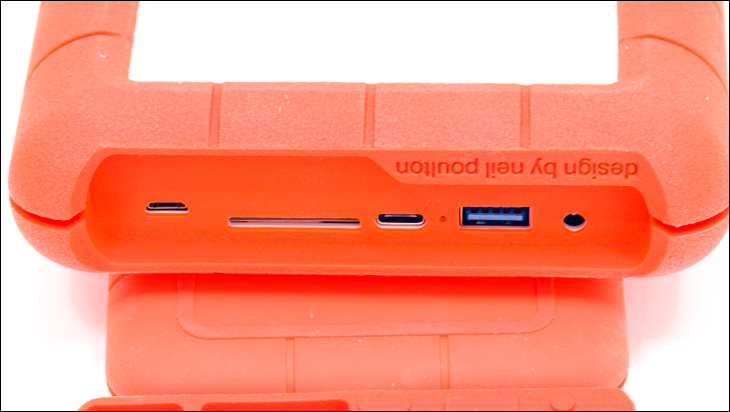 LaCie Rugged Boss SSD ports - LaCie Rugged BOSS SSD Review