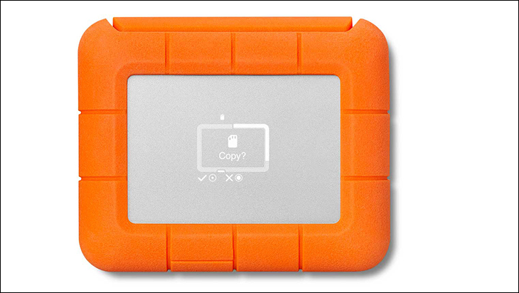 LaCie Rugged Boss SSD screen - LaCie Rugged BOSS SSD Review