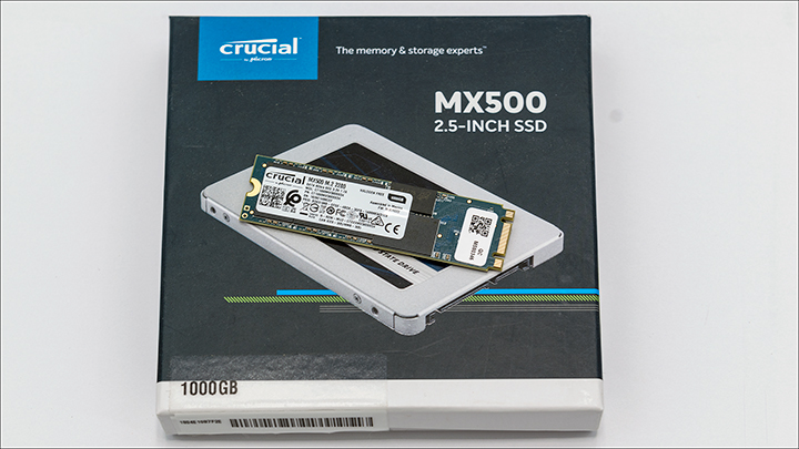 MX500 1TB M2 comp - Crucial MX500 1TB M.2: Small in Size, But Big in Value