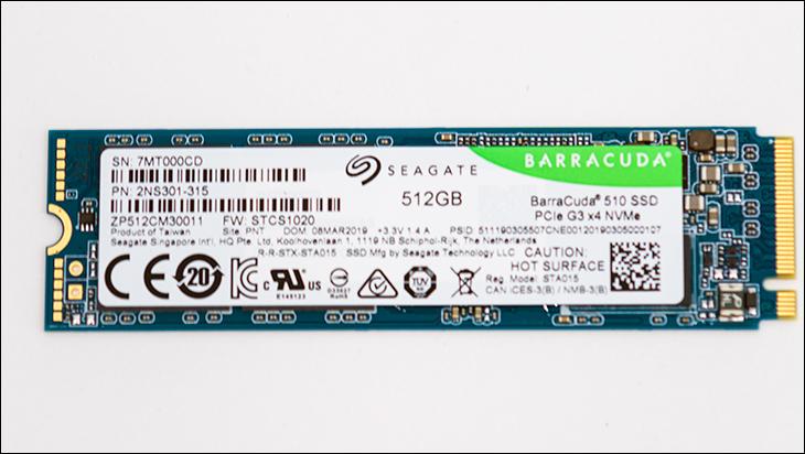 Seagate BarraCuda 510 top1 - Seagate BarraCuda 510 512GB SSD Review