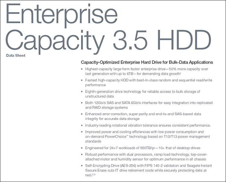 """spec1 - Seagate EC 3.5"""" v4 6TB"""