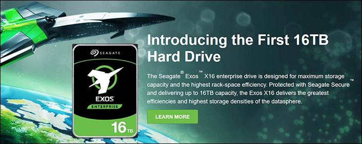 spec2 - Seagate Exos X16 Review