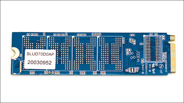 Silicon Power UD70 bottom - Silicon Power UD70 2TB Review