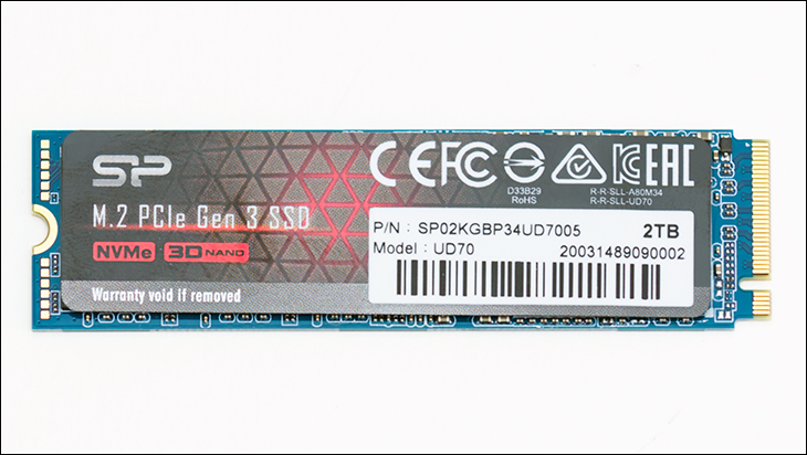 Silicon Power UD70 top - Silicon Power UD70 2TB Review