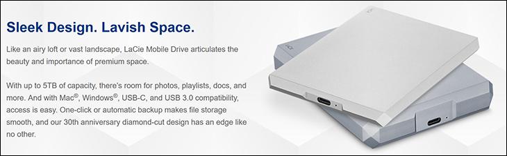 spec2 - LaCie Mobile Drive 5TB Review