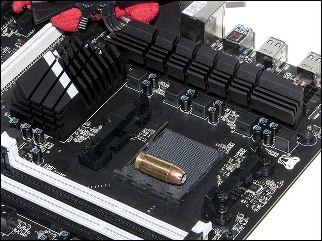 heatsink - MSI 970A SLI KRAIT Review