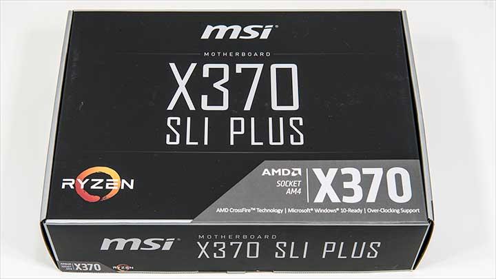 box - MSI X370 SLI Plus - Best Budget Enthusiast X370