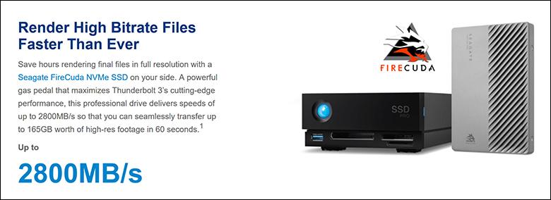 LaCie 1BigDock SSD Pro spec3 - LaCie 1Big Dock SSD Pro Review