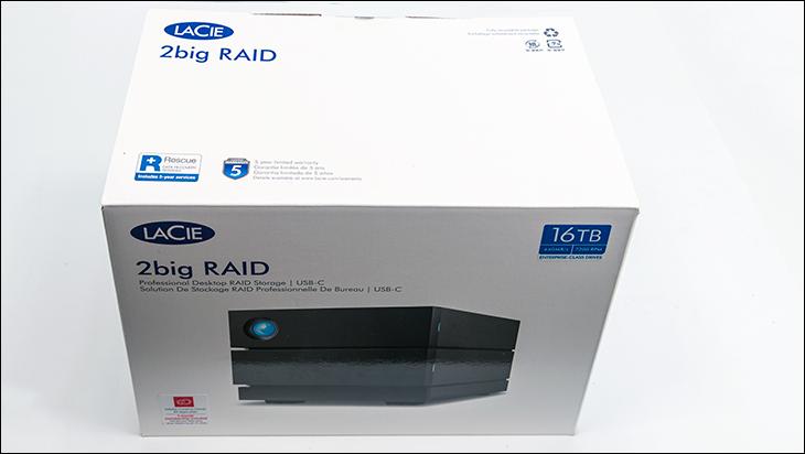 LaCie 2Big RAID 16TB box - LaCie 2Big RAID Review