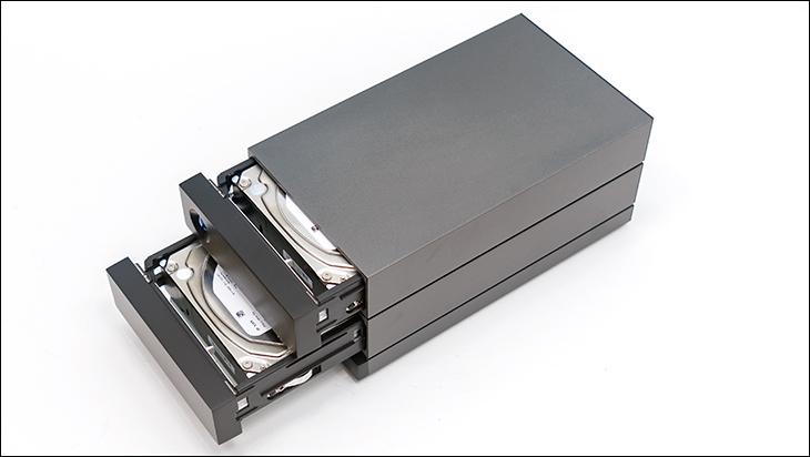 LaCie 2Big RAID 16TB caddy - LaCie 2Big RAID Review