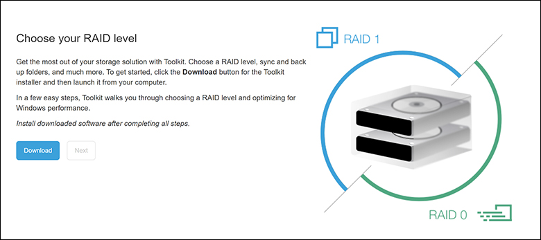 LaCie 2Big RAID 16TB soft1 - LaCie 2Big RAID Review