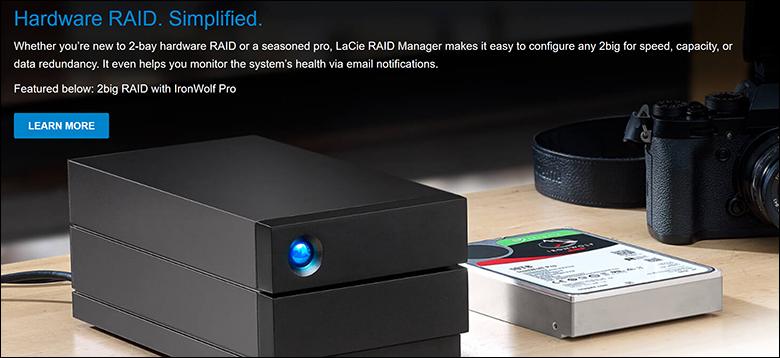LaCie 2Big RAID 16TB spec2 - LaCie 2Big RAID Review