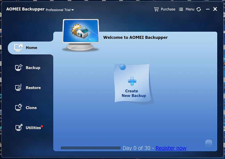 free1 - Aomei Backupper Free & Pro Review