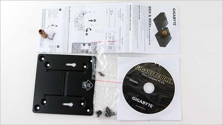 access - Gigabyte Brix s