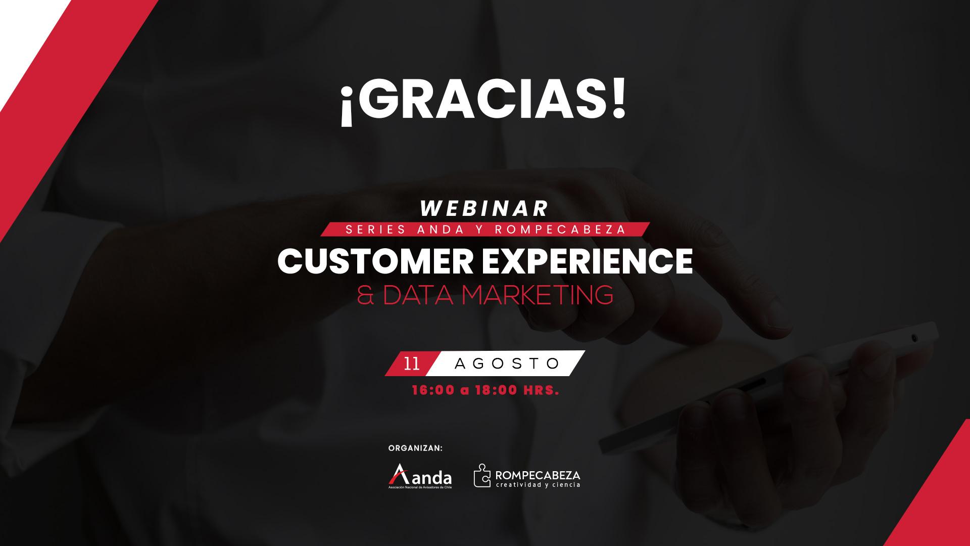 Webinar Gracias data marketing