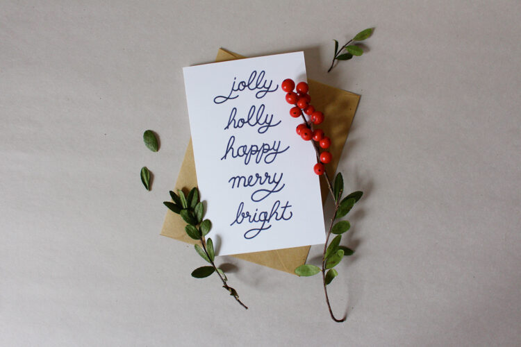 StyleBee - Christmas Cards