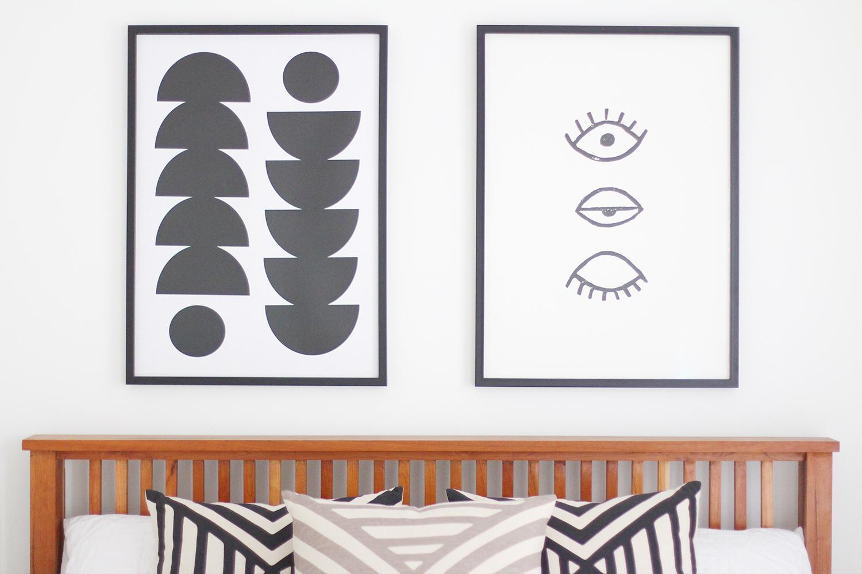 Style Bee - Bedroom Reveal