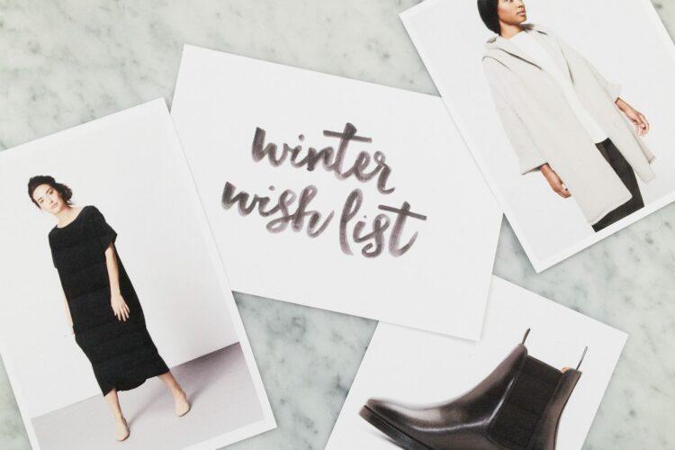 Style Bee - Winter Wish List