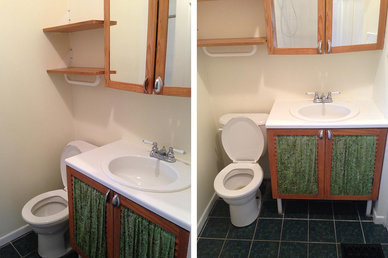 Style Bee - Bathroom Reveal - Before