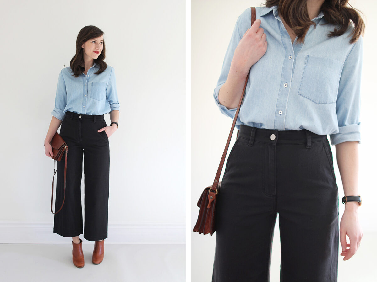 Wide Leg Crop Pant Review