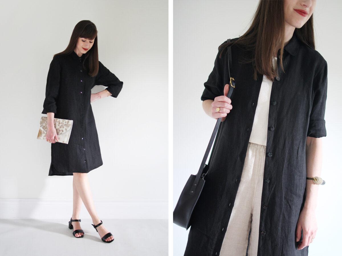 Style Bee - 1 Item - 3 Ways - Ida Shirt Dress
