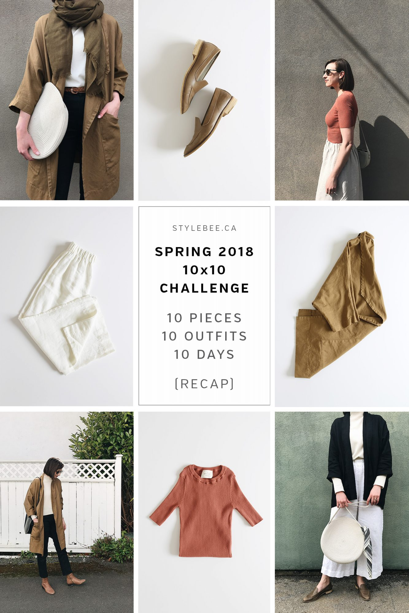 Style Bee - 2018 - Spring 10x10 - RECAP