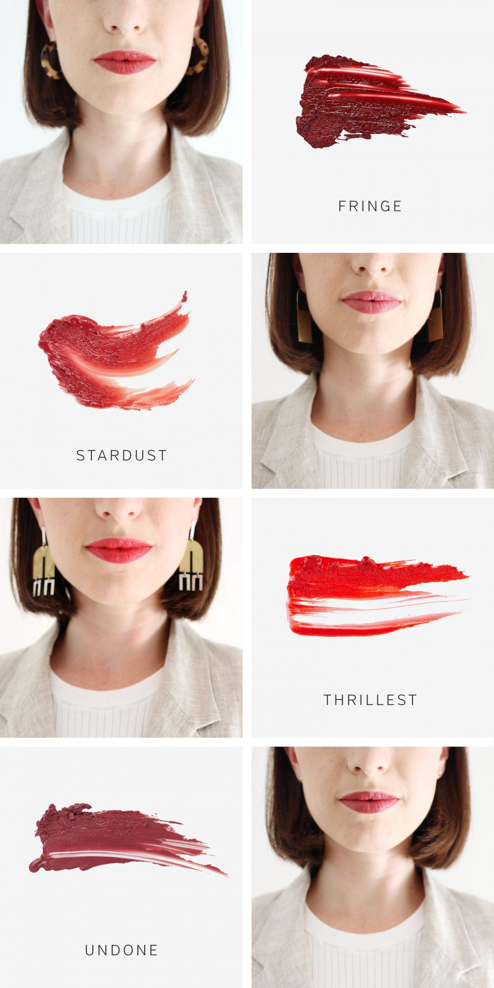 Style Bee - My 4 Favourite Lip Colours