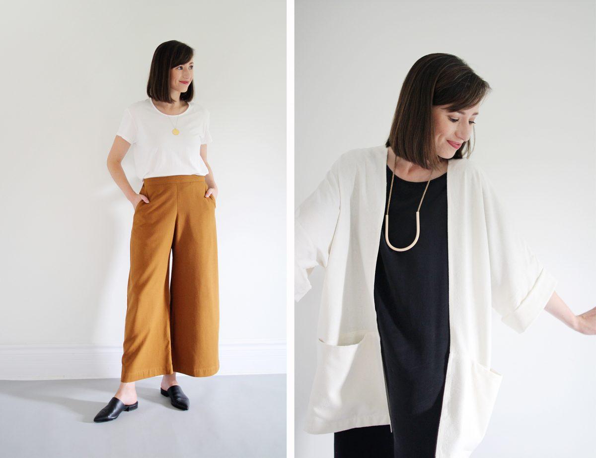 Style Bee - Jamie + The Jones - Pants + Haori Review