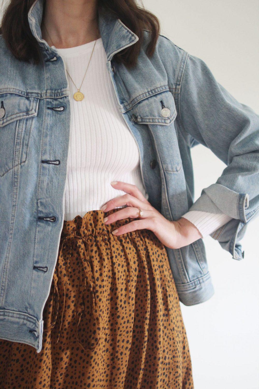 Style Bee - Leopard Midi Skirt - 4 Ways