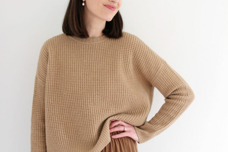 Style Bee - 1 Sweater 5 Ways With Eileen Fisher
