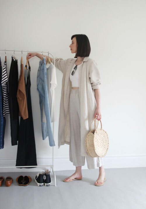 Style Bee - Re-Stying The Fern Trench - 1 Year Later