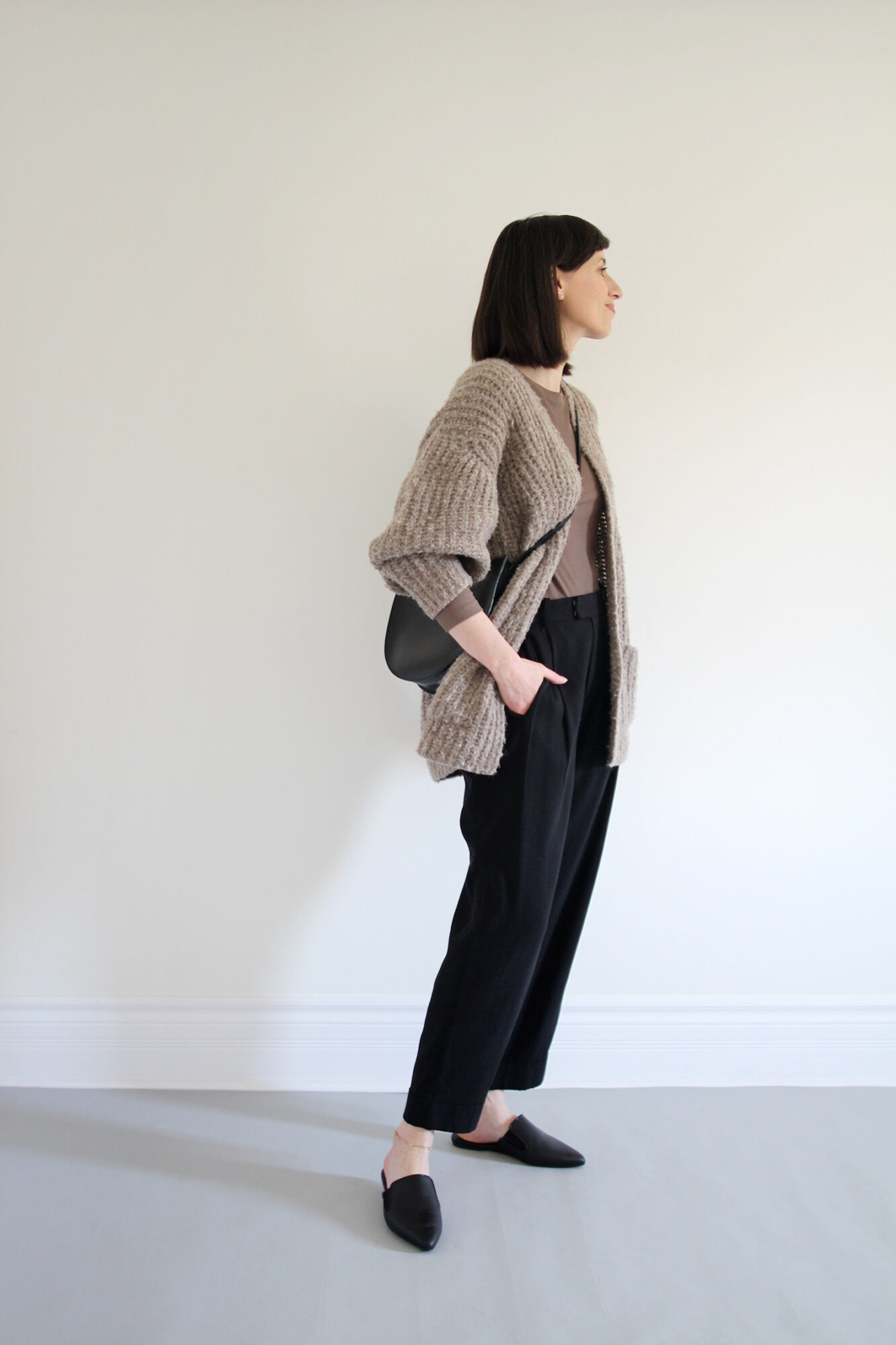 Style Bee - Taupe & Trousers