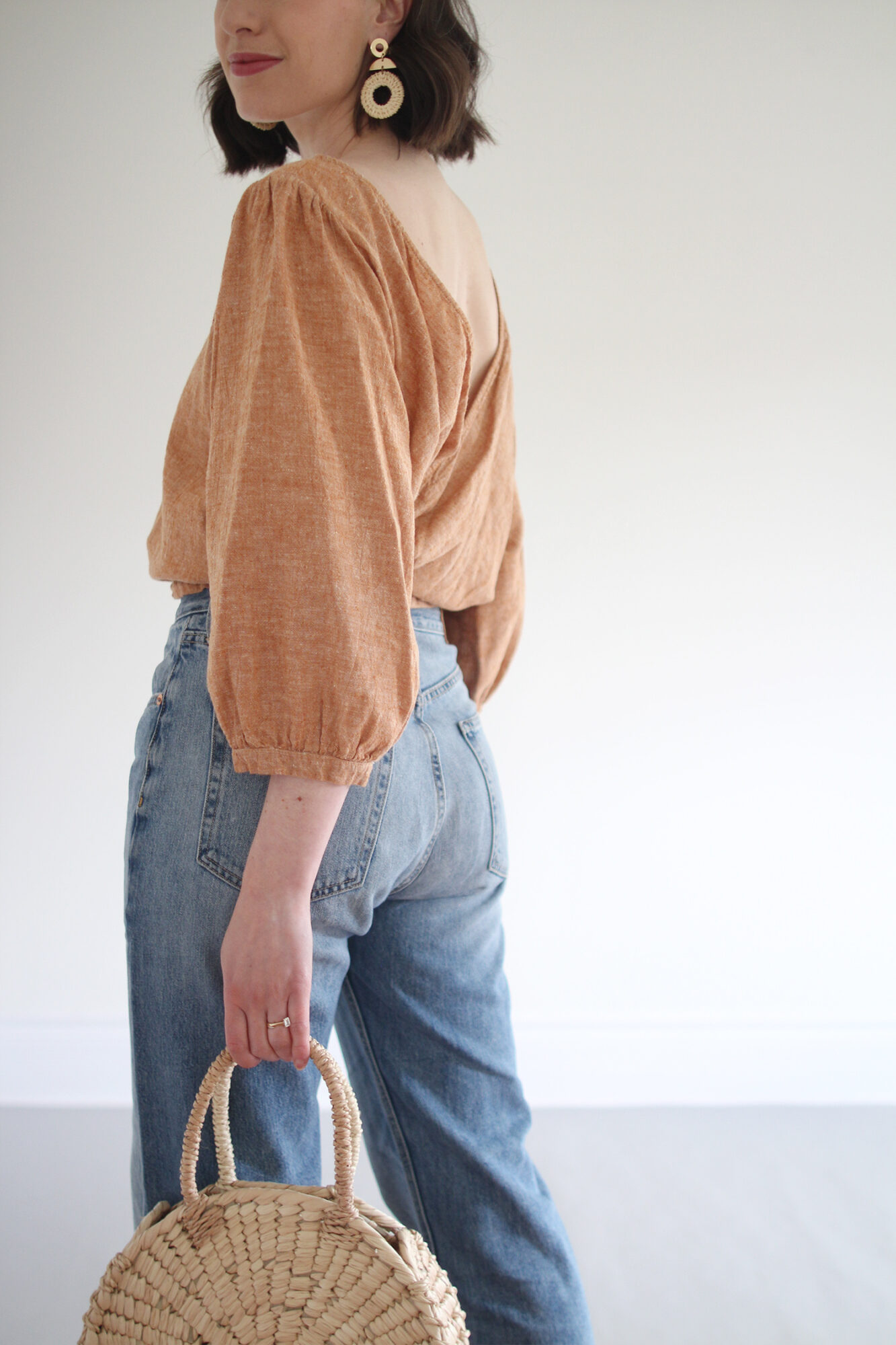 Style Bee - Peach & Jeans