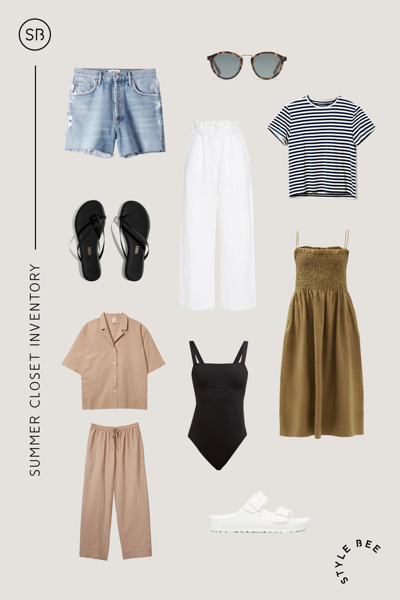 Style Bee - Summer Closet Inventory