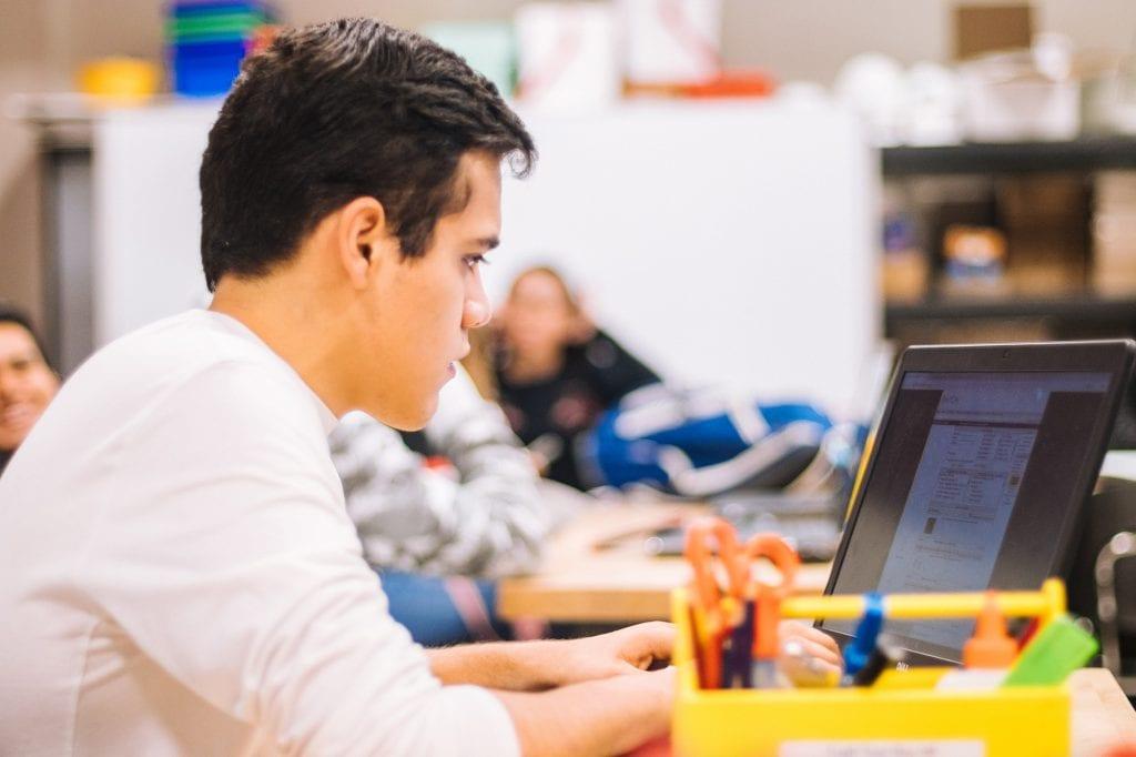 boy-working-at-school