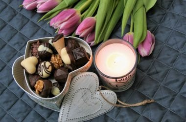 chocolates-flowers