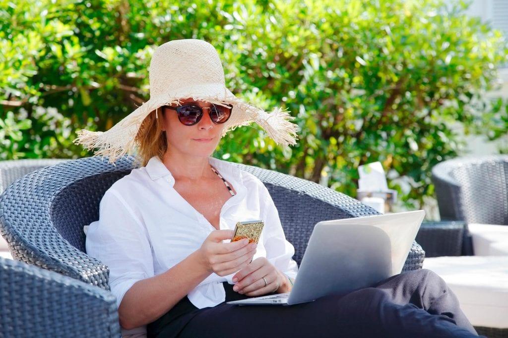 woman-in-garden-reading
