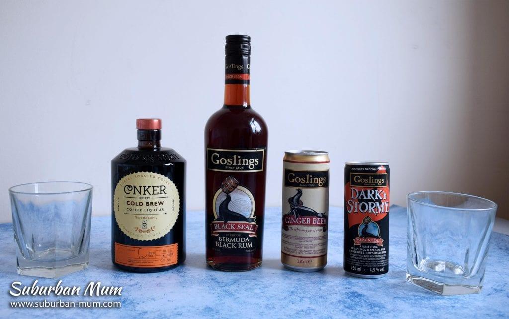 goslings-dark-rum-conker-cofee-liquer