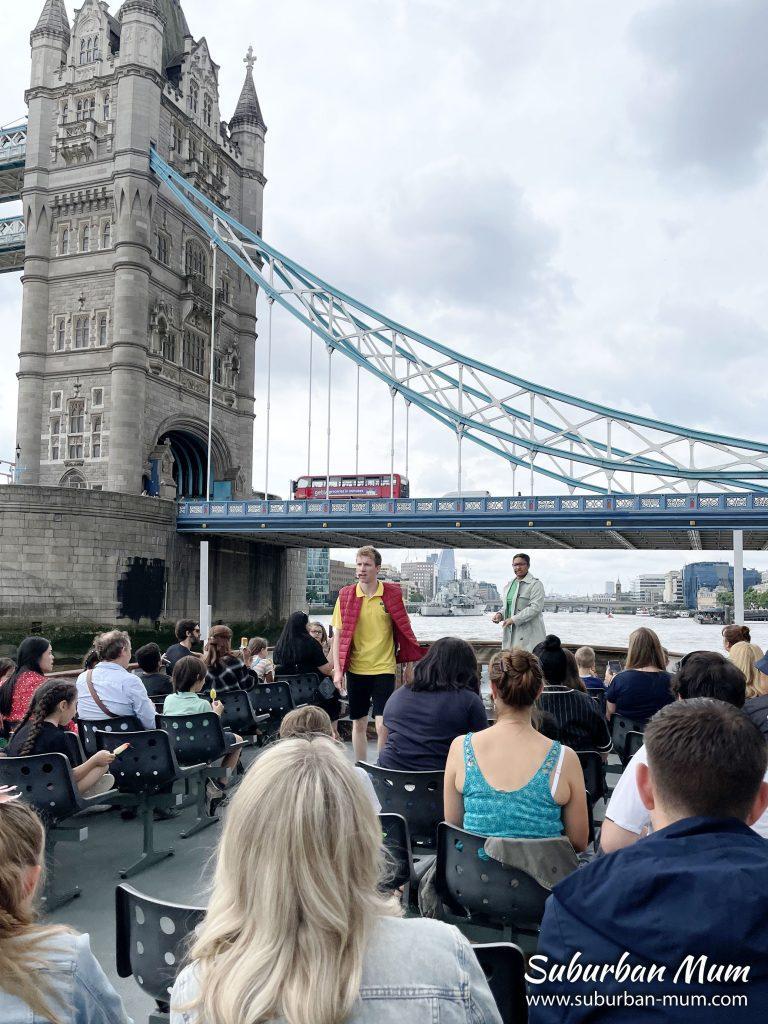 Horrible Histories Thames Tour - Tower Bridge