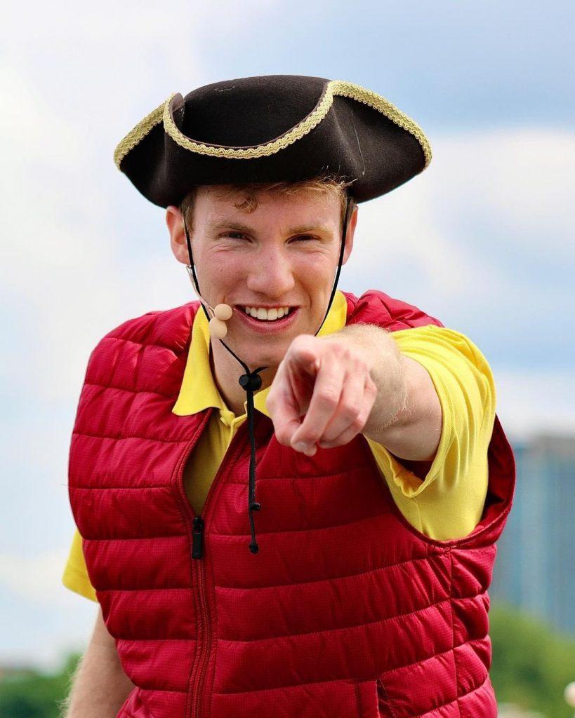 TerribleThamesTourHorrible Histories Thames Tour - Actor